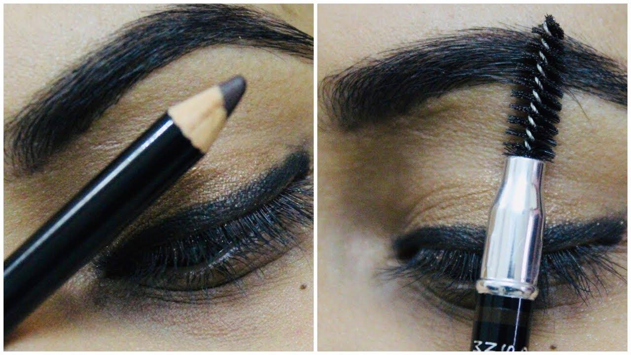 **REVIEW** COLORBAR eyebrow pencil review + demo|how to do ...