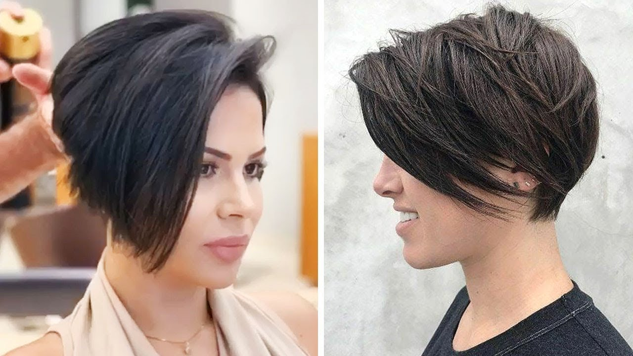 14 new hairstyles for women on 2020  short bob  pixie